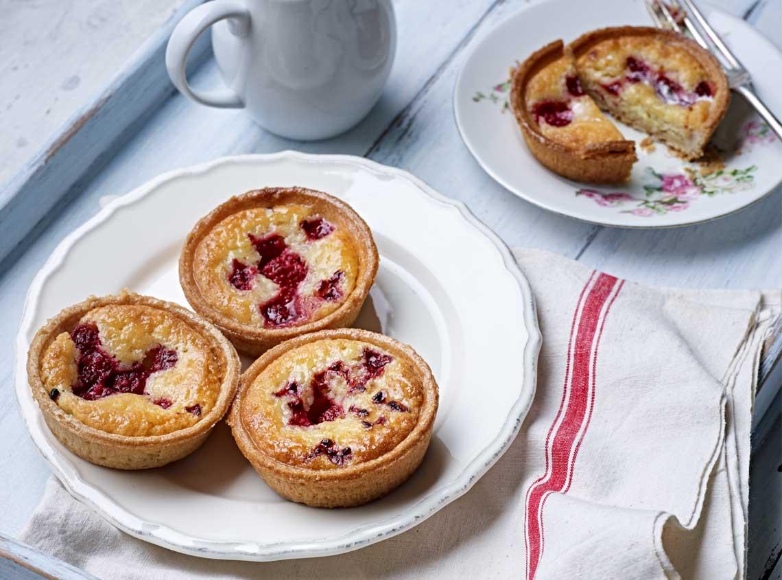 Marston foods bakewell tart packaging design