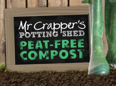 Mr Crappers Potting Shed Website