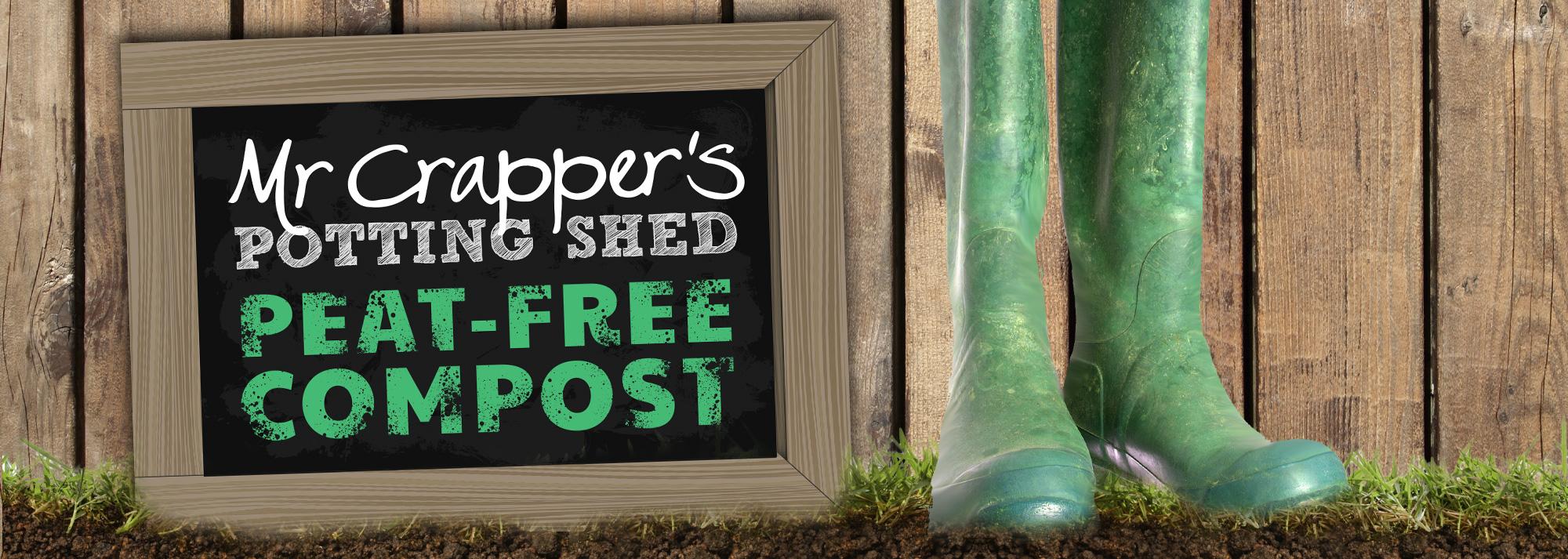 Mr Crapper's Potting Shed Website