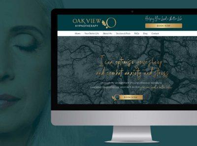 Oak View Hypnoyherapy Website