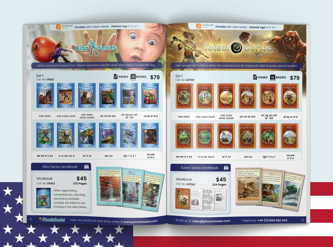Phonic Books US Catalog