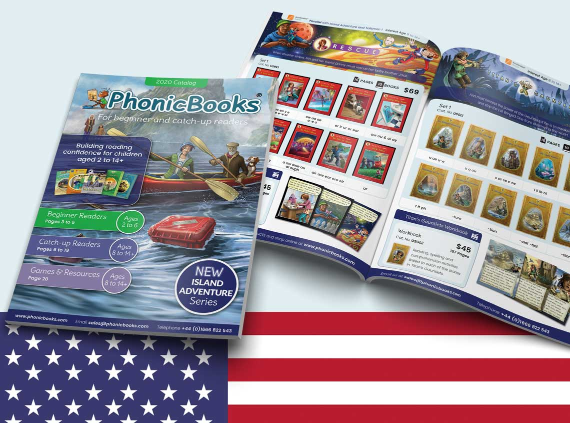 Phonic Books USA Catalog